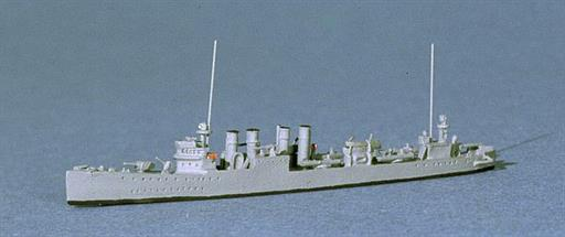 Navis Neptun 360N USS Schley, a four piper Destroyer, 1918 1/1250