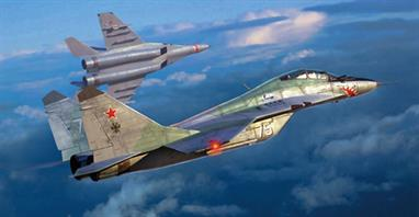 Trumpeter 01677 1/72 Scale Mikoyan Mig 29UB 9.51 Russian Fighter