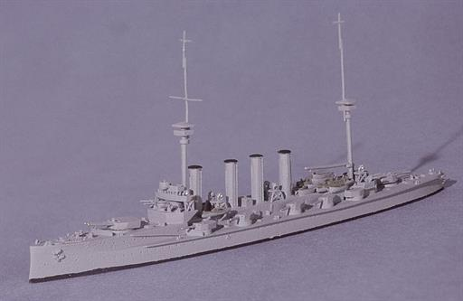 Navis Neptun 130N HMS Defence, the last design of Armoured Cruiser for the Royal Navy, 1914 1/1250