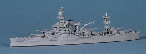 Navis Neptun 1309 USS Arkansas, the oldest Battleship in the US Fleet 1/1250