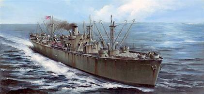 Trumpeter 1/350 SS John W Brown WW2 Liberty Ship 05308This model is designed to replicate the SS John W Brown preserved as a museum ship in Baltimore harbour.Number of parts 349Model Length 384.3mmGlue and paints are required