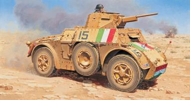 Italeri 7051 1/72 Scale Italian Autoblinda AB41 Armoured Car - WW2Dimensions - Length 73mm.The kit comes complete with decals for 2 versions (German and Italian) and full assembly instructions.Glue and paints are required to assemble and complete the model (not included)