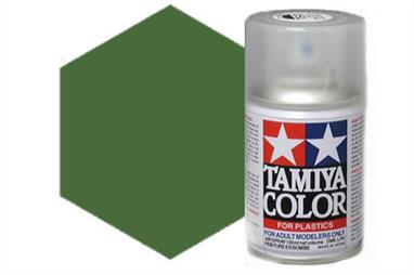 Tamiya AS23 Light Green Synthetic Lacquer Spray Paint 100ml AS-23Tamiya AS Spray paint, much like the TS Sprays, are meant for plastic models. These spray paints are specially developed for finishing aircraft models. Each color is formulated to provide the authentic tone to 1/32 and 1/48 scale model aircraft. now, the subtle shades can be easily obtained on your models by simple spraying. Each can contains 100ml of synthetic lacquer paint.