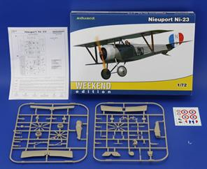 The Weekend edition of the famous allied aircraft from WWI, Ni 23 in 1/72 scale would surprise you by easy build