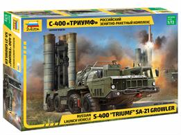 Zvezda 1/72nd 5068 Russian Triumph & Growler Launch Vehicle KitLenght 18.6cm Number of Parts 283