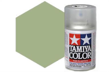 Tamiya AS Spray paint, much like�the TS Sprays, are meant for plastic models. These spray paints are specially developed for finishing aircraft models. Each color is formulated to provide the authentic tone to 1/32 and 1/48 scale model aircraft. now, the subtle shades can be easily obtained on your models by simple spraying. Each can contains 100ml of synthetic lacquer paint.