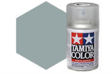 Tamiya AS18 Light Gray IJA Synthetic Lacquer Spray Paint 100ml AS-18Tamiya AS Spray paint, much like�the TS Sprays, are meant for plastic models. These spray paints are specially developed for finishing aircraft models. Each color is formulated to provide the authentic tone to 1/32 and 1/48 scale model aircraft. now, the subtle shades can be easily obtained on your models by simple spraying. Each can contains 100ml of synthetic lacquer paint.