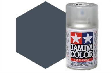 Tamiya AS4 Gray Violet Luftwaffe Synthetic Lacquer Spray Paint 100ml AS-4Tamiya AS Spray paint, much like�the TS Sprays, are meant for plastic models. These spray paints are specially developed for finishing aircraft models. Each color is formulated to provide the authentic tone to 1/32 and 1/48 scale model aircraft. now, the subtle shades can be easily obtained on your models by simple spraying. Each can contains 100ml of synthetic lacquer paint.