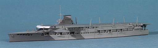 Navis Neptun T1118 HMS Glorious, 1940, the Aircraft Carrier in the Camouflage Scheme in which she was sunk 1/1250