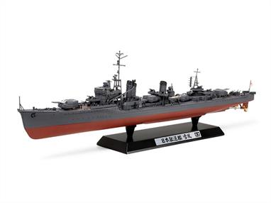 Tamiya 1/350 Japanese Navy Destroyer Yukikaze Kit 78020This model kit recreates the Imperial Japanese Navy Kagero class destroyer Yukikaze (snowy wind or wind-blown snow) as she appeared during the 1945 operation Ten-Ichi-Go (Heaven One) during the battle for Okinawa.