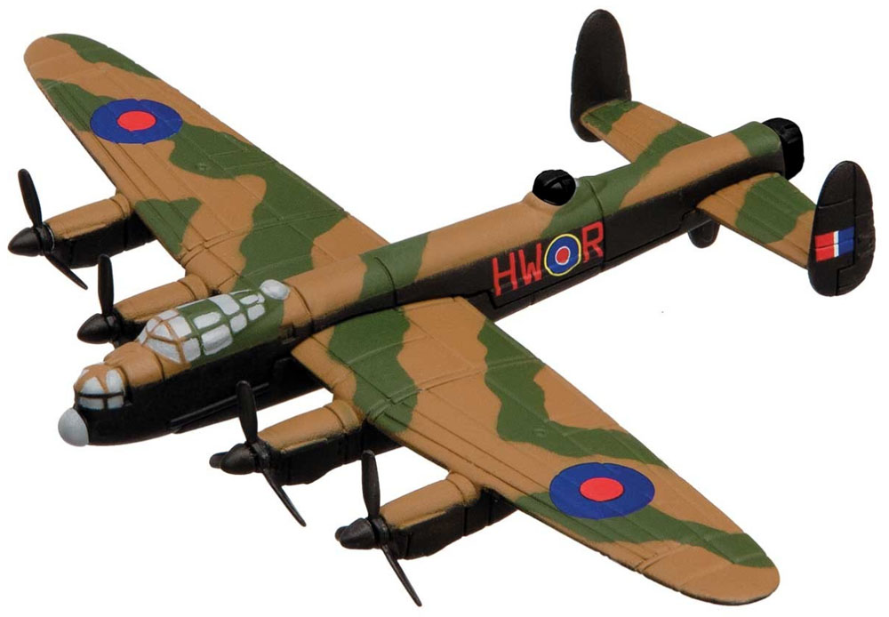 The Avro Lancaster from the Showcase Collection CS90619 is a quality die-cast model aircraft suitable for the younger collector. Wingspan 121mm<br><br><br><br>