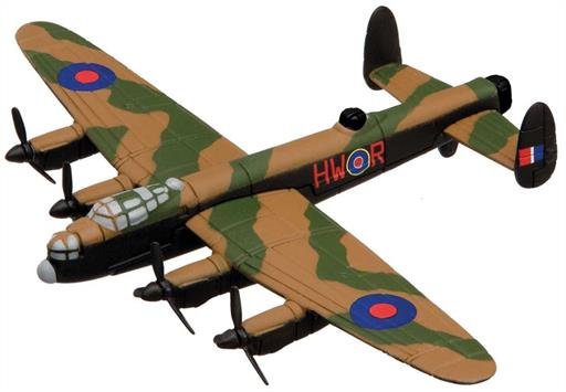 Corgi CS90651 Flying Aces Lancaster Model