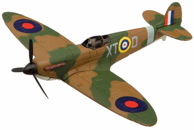 Supermarine Spitfire from the Showcase Collection CS90618 is a quality die-cast model aircraft suitable for the younger collector