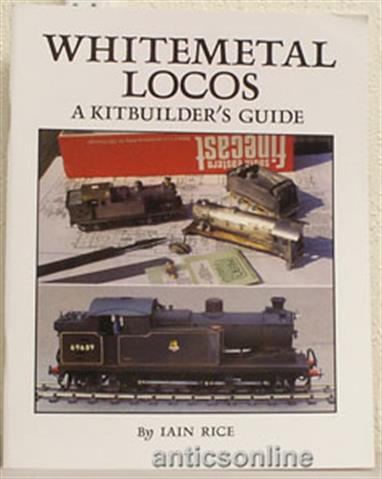 An acomplished builder of model locomotives from kits, Iain Rice offers a guide, hints and tips on the buildong of whitemetal locomotive kits. This is a book written for the begineer, providing an illustrated discussion of construction techniques designed to build your confidence to get started on your kit. The tips for success are well illustrated with photgraphs and diagrams, starting with a discussion of low-melt soldering techniques, favoured by many modellers to assemble the basic bodyshell. Completing your model Iain Rice then moves on to painting and lining techniques, finishing with siple weathering ideas.62 pages, softbound.