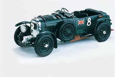 Heller 80722 1/24th Bentley Blower Le Mans Racer Plastic KitModel length 183mm   Number of Parts 128
