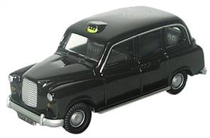 Oxford Diecast 1/76 FX4 Black Taxi 76FX4001