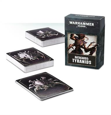 Designed to make it easier to keep track of Tactical Objectives, psychic powers and Stratagems in games of Warhammer 40,000, this set of 74 cards – each featuring artwork on the reverse – is an indispensable tool in the arsenal of any Tyranids gamer.