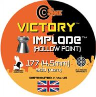 SMK Victory .177 Implode Hollow Point Air Gun Pellets 500 Approx