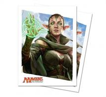 80 deck protectors box with a Nissa design from MTG Oath of the Gatewatch.