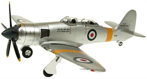Witty Wings WTW72-025-003 Royal Navy Hawker Sea Fury T20S VZ345 Diecast Aircraft Model 1/72