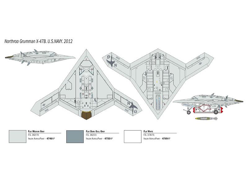 Italeri X 47b Us Navy Prototype 1 72 1421