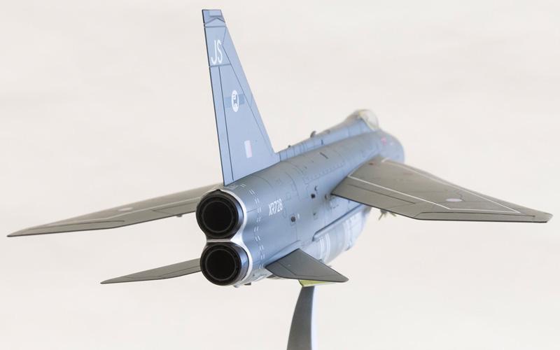 Corgi 1/48 English Electric Lightning F6 XR728/JS RAF