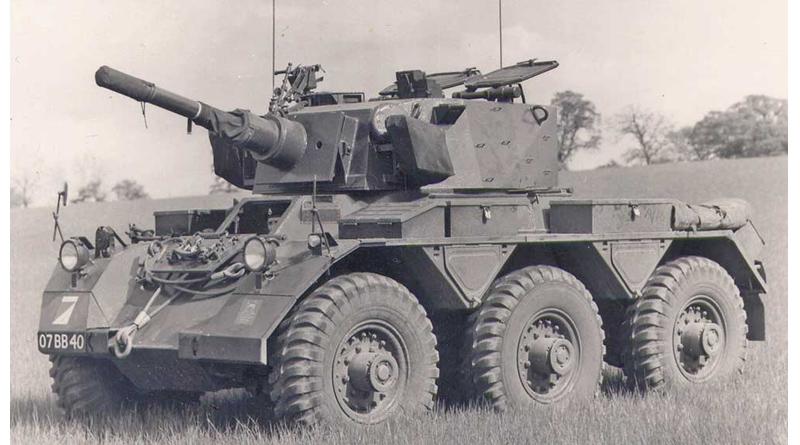 Ace Models 1/72 British FV-601 Saladin Armoured Car Kit 72435