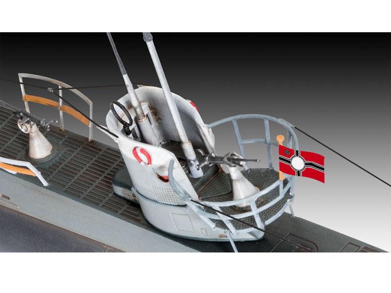 Revell 1/144 German Submarine Type IIB U Boat Kit 05155