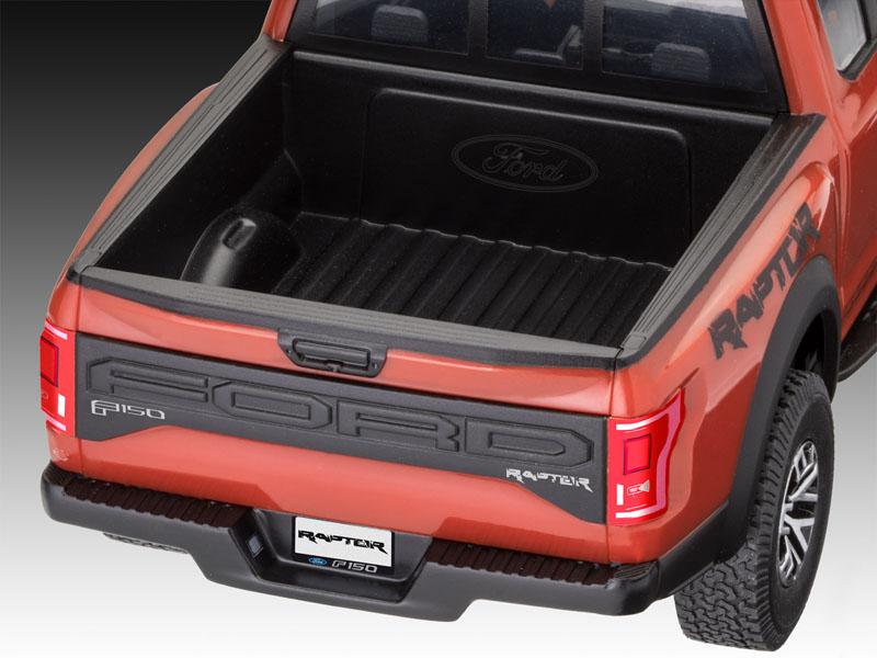 Plastic Model Kit Revell 07048 1:25 2017 Ford F-150 Raptor Easy-Click