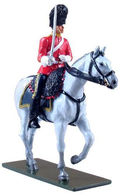 WBritain	Royal Scots Dragoon Mounted Trooper Two Piece Limited Edition Set	1/32	48014