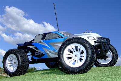 FTX5538 is a 1/10th scale Carnage 4WD RTR Electric Radio Control Truck