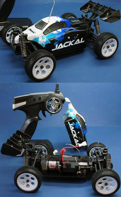 Ripmax RMX0010 is a 1/18th scale radio control Ready to run Jackal Buggy