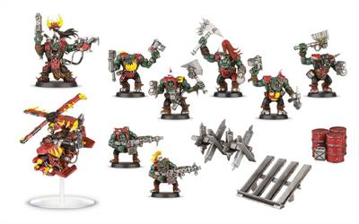 Revell	Warhammer 40000 Space Ork Raiders Build & Paint Series 1	 	99 17 20 03 001