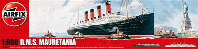 Airfix A04207 is a 1/600th Scale Plastic kit of the  RMS Mauretania Ocean Liner