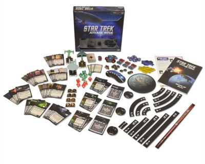 Wizkids WZK71120 is a Star Trek Attack Wing Tactical Miniatures Game