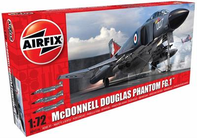 Airfix A06016 2017 New Tooling 1/72nd scale  plastic kit of the McDonnell Douglas FG.1 Phantom